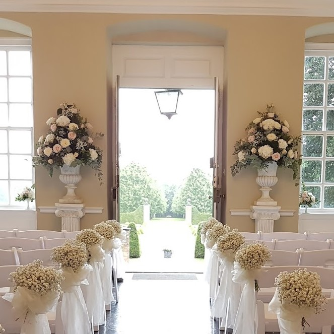 Colonial Pedestal Stand and Urn Wedding Hire