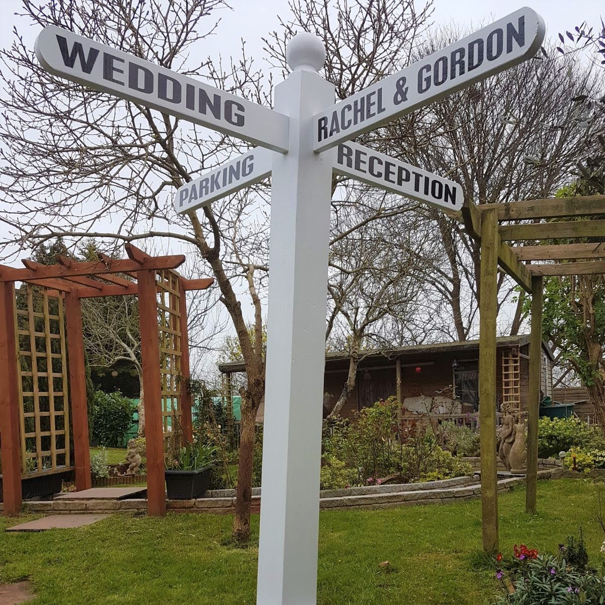 Wedding Sign Post Hire